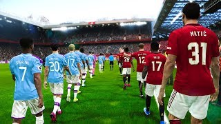 Manchester City vs Manchester United - Carabao Cup 2020 Gameplay