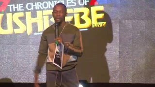 USHBEBE STANDING FOR COMEDY