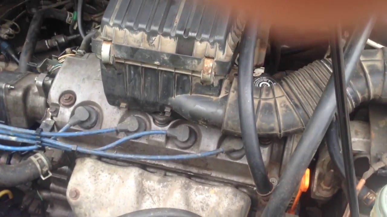 honda h-rv стук в двигателе на оборотах