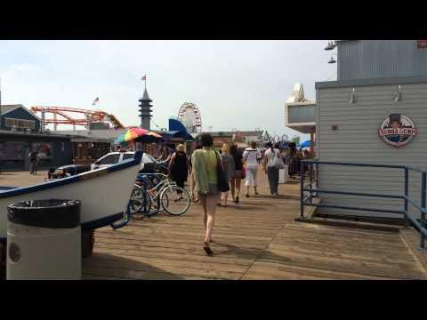 Santa Monica Pier overview