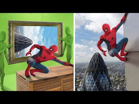 Spider-Man: Far From Home - Without CGI - Part 2 [RSP VFX Breakdown]