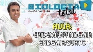 Surto, Epidemia, Pandemia e Endemia - Prof. Paulo Jubilut
