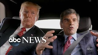 President Trump: 30 Hours l Interview with George Stephanopoulos l Part 1
