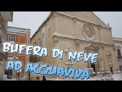 Neve ad Acquaviva delle fonti( 7/01/2017)