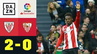Inaki Williams mit Strahl und Super-Solo: Athletic Bilbao - Sevilla 2:0 | La Liga | DAZN Highlights