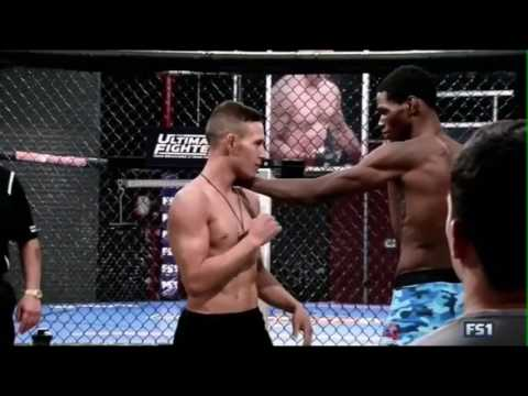 Cocky Fighter blinks and gets KO'd on TUF 24