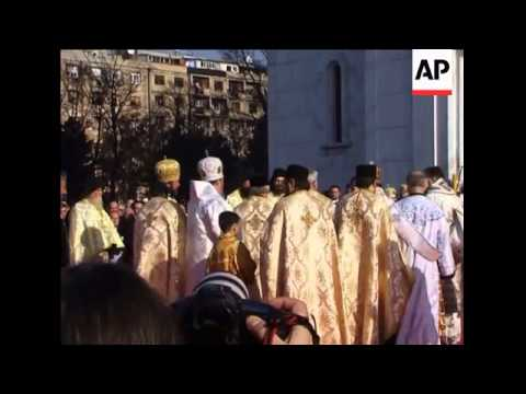 Serbs bid emotional farewell to Patriarch Pavle
