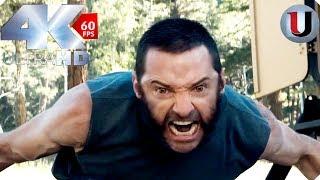 Logan vs X 24 Final Fight - Logan 2017 MOVIE CLIP (4K HD)