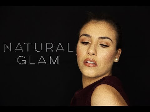 NATURAL GLAM FULL FACE TUTORIAL | NATASHAVILO