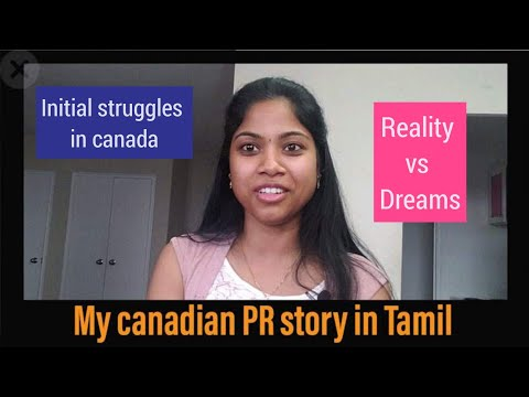 My Canadian PR Story In Tamil|Struggle I Went Through|Reality Of Life In Canada