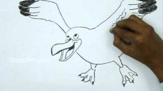 How to Make a Flying Seagull Bird