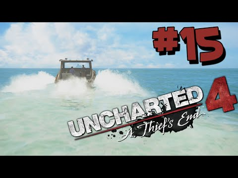 Uncharted 4 Walkthrough Part 15 HD - PIRATES ISLAND