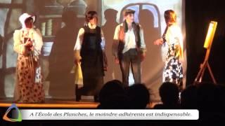 L'École des Planches - Le bonheur ça n'est pas gai ... Édition 2015 à Magny (89)