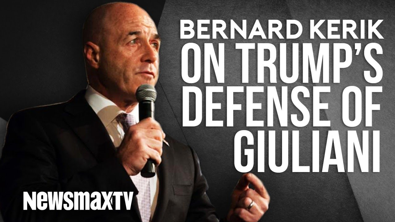 Newsmax Bernard Kerik on Trump's Defense of Rudy Giuliani