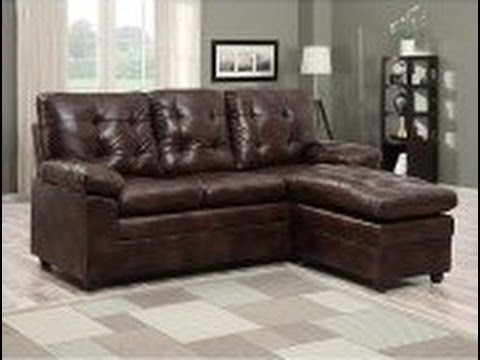 Brown Leather Sectional Couch : brown leather sectionals - Sectionals, Sofas & Couches