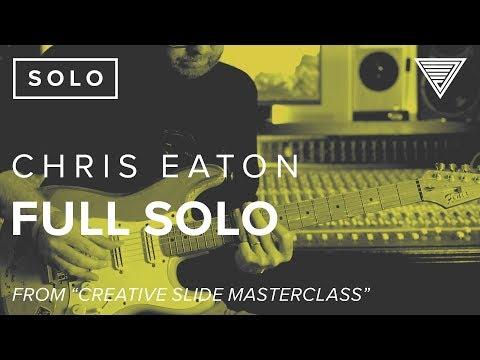 Chris Eatons Creative Slide Full Solo  JamTrackCentralcom