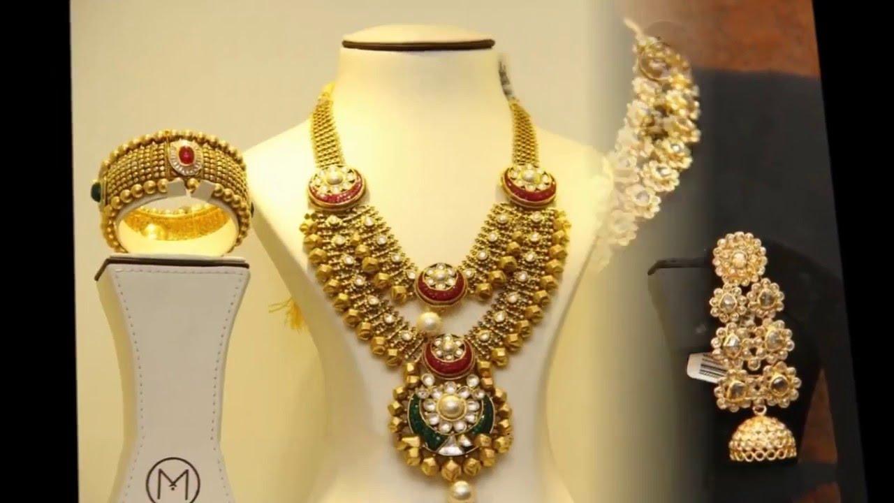 Malabar gold jewellery designs dubai - Scott Tischler Beautiful Top 10 Latest Malabar Gold Dd Ball Haram Designs