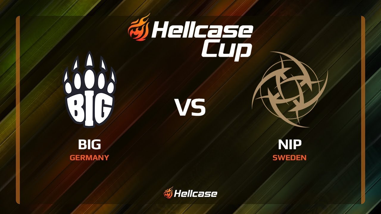 BIG vs NiP, map 2 cache, Hellcase Cup 6