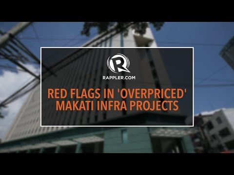 Red flags in Makati City Hall 'parking building,' Makati Science High School