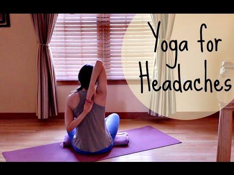 Yoga For Headache Relief 10 Minute Yoga For Headache Relieve Headache Release Tension Youtube