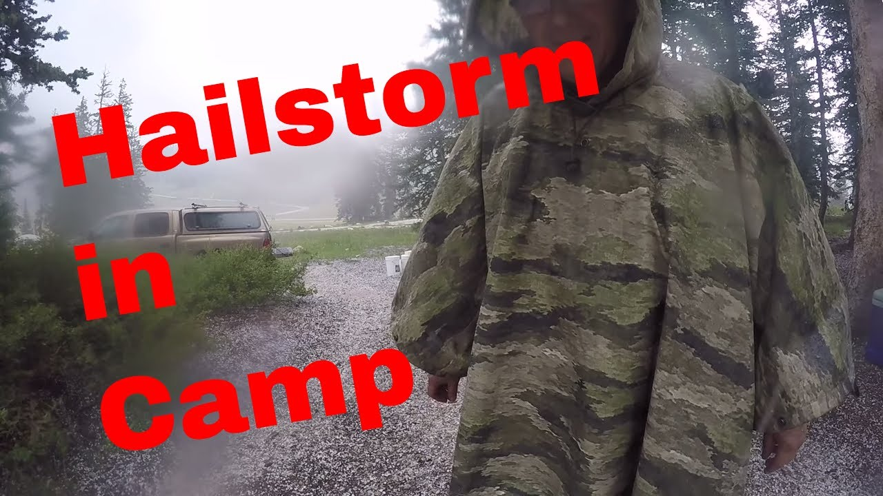 Night camp w rain and hail - shelter and cooking - Current ...