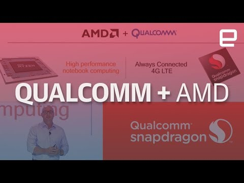 Qualcomm and AMD team up to make Always Connected PCs