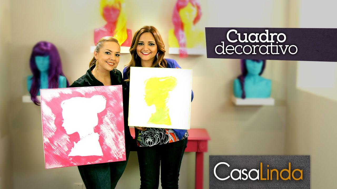 C mo pintar cuadros decorativos diy casa linda y gabytips episodio 7 youtube - Ideas para pintar cuadros ...