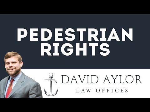 Pedestrian Rights | Charleston SC Auto Accident Lawyer