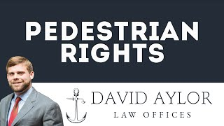 Pedestrian Rights | Charleston SC Auto Accident Lawyer