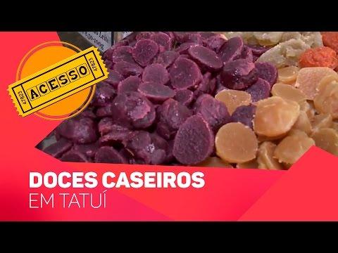 Doces caseiros em Tatuí - TV SOROCABA/SBT