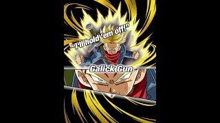 Dokkan Battle | Super Saiyan Trunks (Future) Super Attack (Galick Gun)