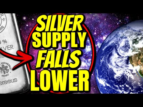 Silver Supply hits ALL TIME-LOWS!
