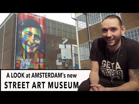 FWTV - A LOOK Inside AMSTERDAM's New STREET ART MUSEUM
