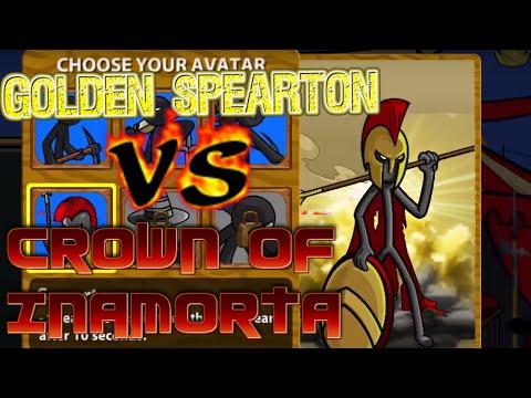 Golden Spearton VS Crown of Inamorta (INSANE!) - Stick War Legacy