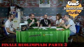 Lucca Comics & Games] Boardgame Studio: Finali Ruolimpiadi 2017 Parte 3