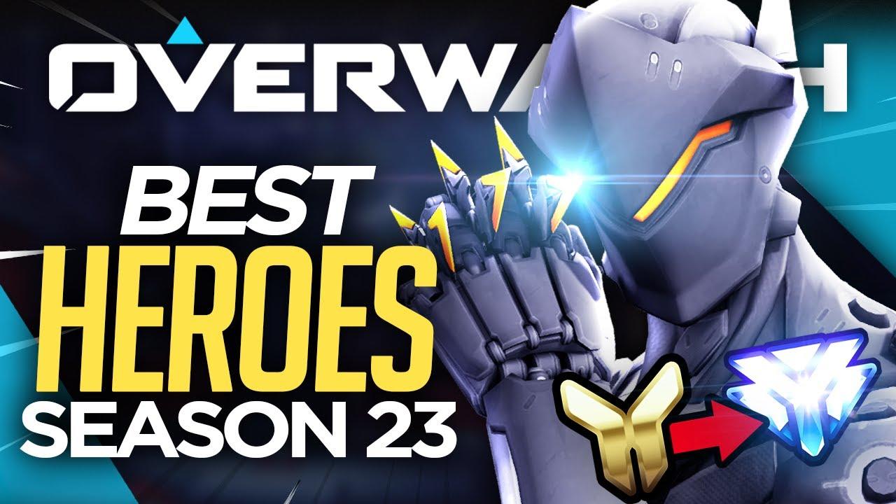 Overwatch Season 23 BEST 7 HEROES & Open Queue Tips (EASY SR Guide)