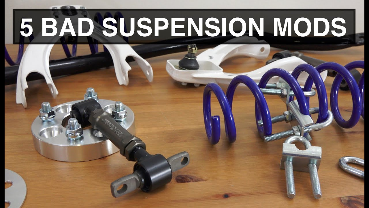 5 Suspension Mods That Can Ruin Your Car Youtube
