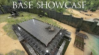 Ark: Survival Evolved - Base Showcase and Kibble Farm beginnings!