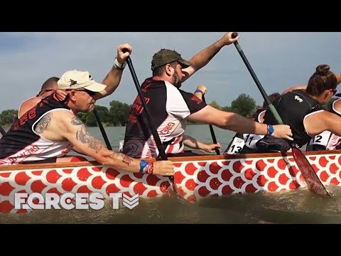 How A Military Dragon Boat Team Took On The World | Forces TV