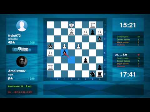 Chess Game Analysis: ttylo973 - Amolswt07 : 0-1 (By ChessFriends.com)