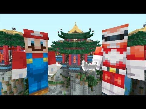 Minecraft Wii U - Super Mario Series - Power Rangers [188]