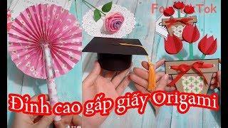 Top video gấp giấy origami đỉnh cao