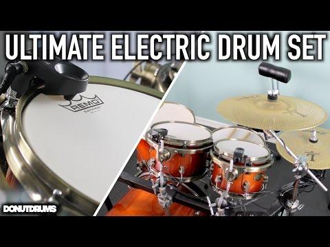 ULTIMATE ELECTRIC DRUM SET! (DonutDrums)