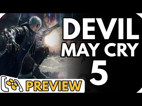 Devil May Cry 5 Preview | Killing Demons in (basically) London