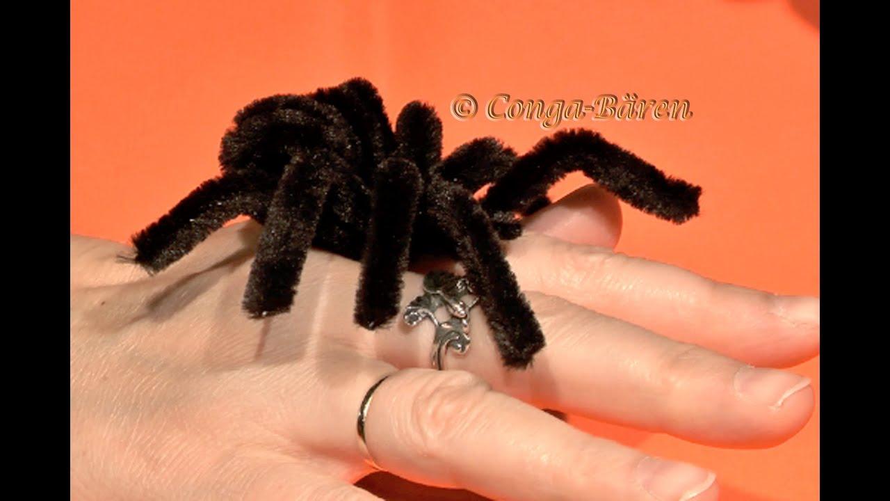 Diy Halloween Spinne Halloween Spider Youtube