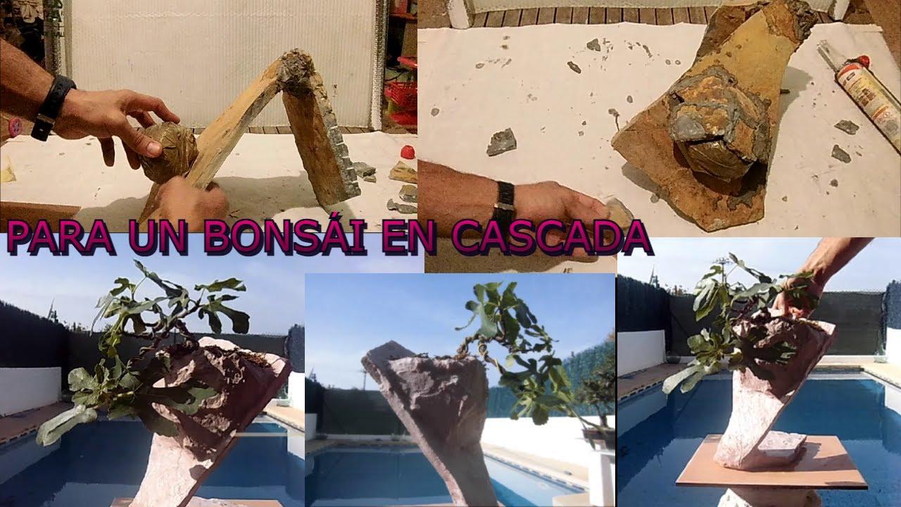 Hacer una maceta original para bonsai youtube - Pedestales para macetas ...