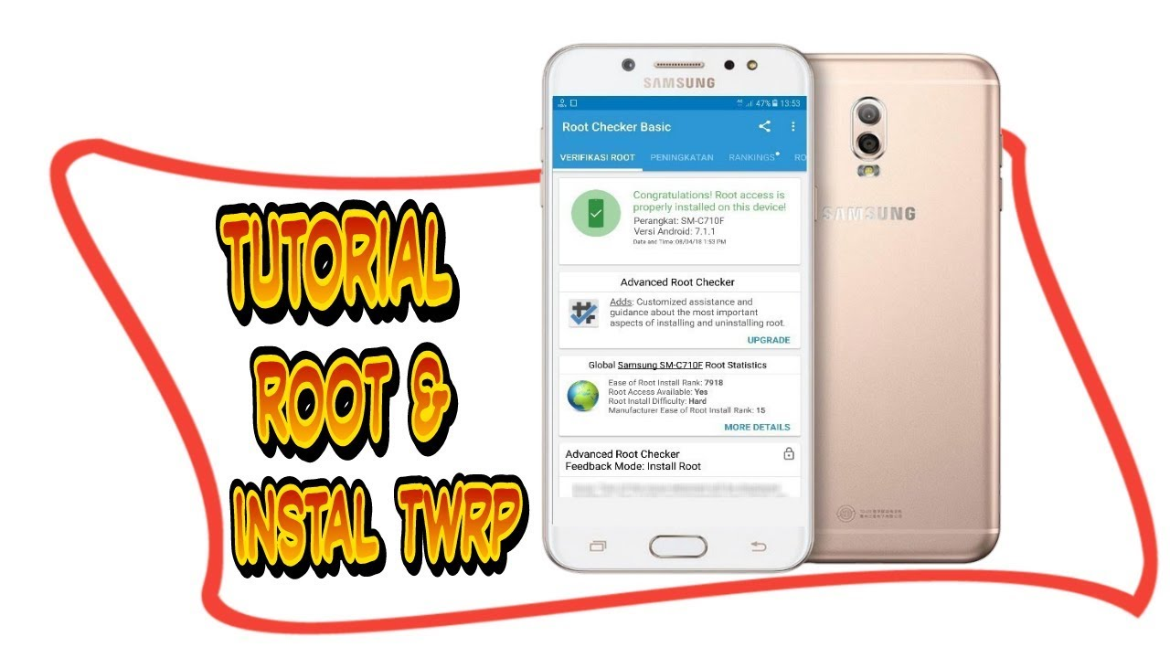 Root Galaxy J7 Plus Sm C710f And Install Twrp Android – Fondos de