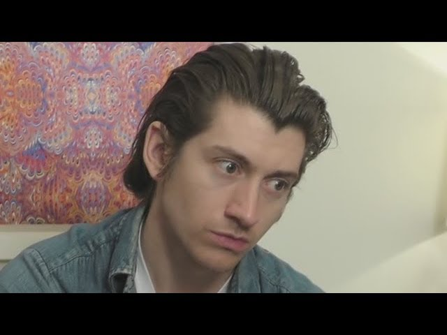 alex turner being a meme for 4 minutes