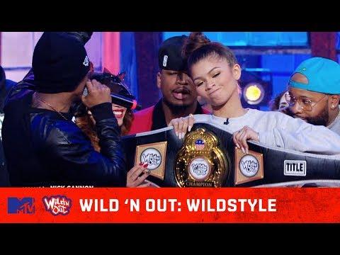 Zendaya & Ne-Yo Take Home the Championship Belt   Wild 'N Out   #Wildstyle