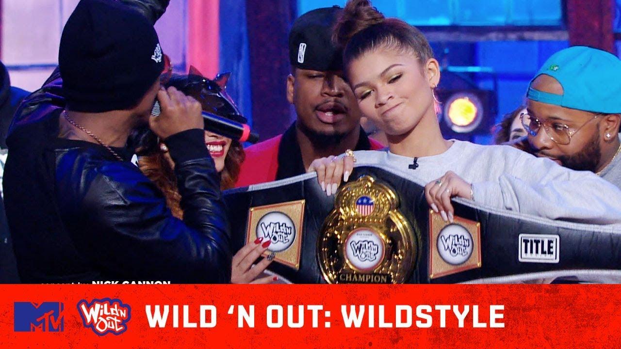 Download Zendaya & Ne-Yo Take Home the Championship Belt | Wild 'N Out | #Wildstyle